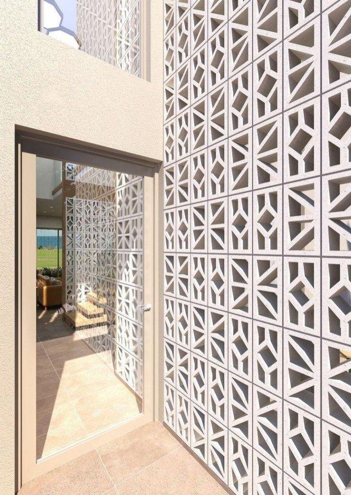 Stunning Breeze Block Wall Fences Ideas 14 Breeze Block Wall Breeze Blocks Concrete Block Walls