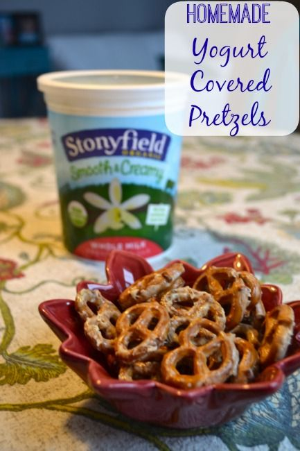 Why You NEED to Make Homemade Yogurt Covered Pretzels
