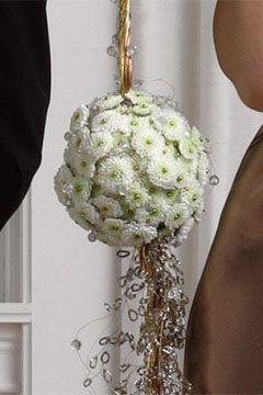 The Flower Ball Flower Girl Bouquet