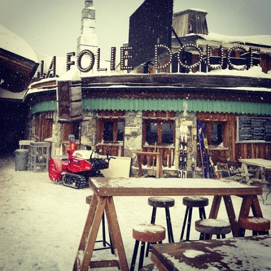 La Folie Douce (A Step Closer to Heaven in Val d'Isere, France)