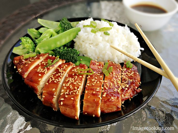Baked Teriyaki Chicken | Delicious Food | Pinterest