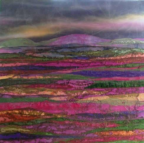 ARTIST ON PAPER: Judith Reece. Storm on the Moor More