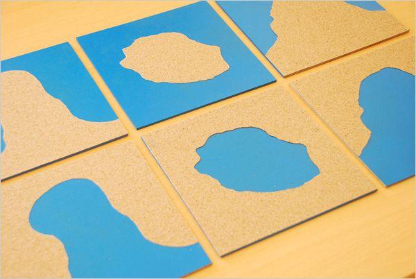 DIY Montessori geography maps / Cartes des Formations Géographiques Montessori