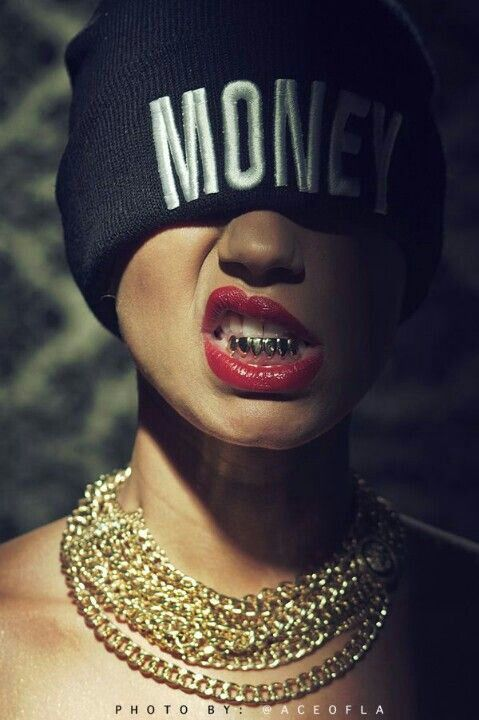 One day when we got money to spend we can get matching grills or atleast are intestials at the mall for like 200 dollars a Peace but it want be gold I hate gold it be silver they come out there not perment also gets you some chains you can get me a big chain so we be all g up I luvs ya my gangsta boo my gutta chick I thinks I luvs u