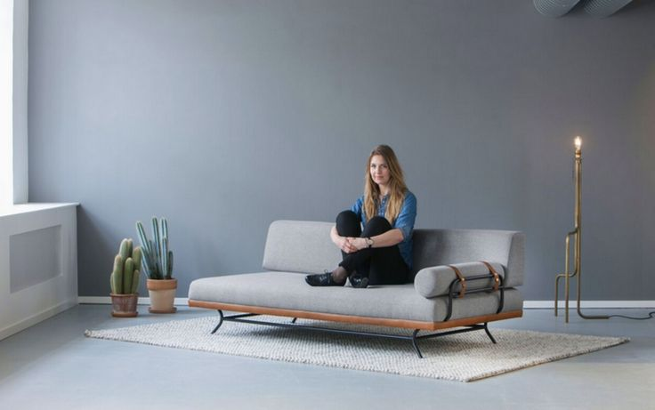 NEW SPRING COLLECTION...Meet REM our daybed with leather trim and metal detail