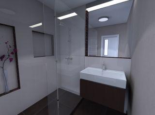 Vizualizácia kúpeľne