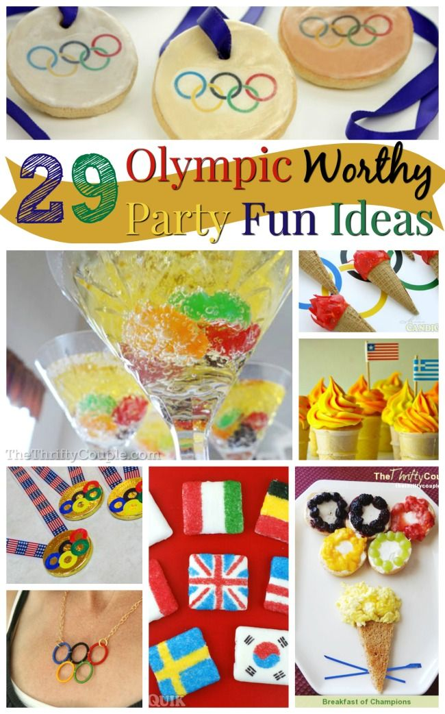 29 Olympic Themed Party Ideas With Food and Festivity