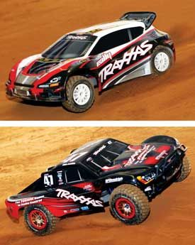 Traxxas Rally vs. Traxxas Slash 4x4