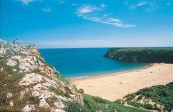 Barafundle Bay, Pembrokeshire, Wales, UK