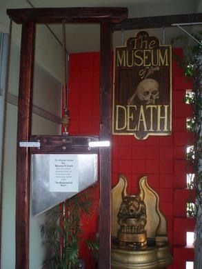 World's largest collection of serial killer artwork and other macabre exhibits