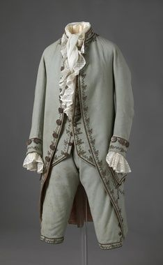 One of Jack's outfits. 18th century mens fashion - Google Search