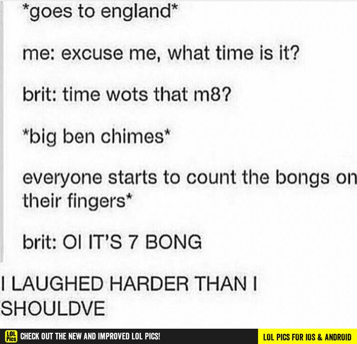7 bong funny pics, funny gifs, funny videos, funny memes, funny jokes. LOL Pics app is for iOS, Android, iPhone, iPod, iPad, Tablet