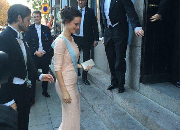 October 23, 2015  Prince Carl Philip and Princess Sofia attends The Royal Swedish Academy.  Sofia was pregnant of Alexander.   #prinsessansofia #princesssofiaofsweden #dukeandduchessofvärmland #svenska #svenskakungafamiljen #prinscarlphilip #princecarlphilip