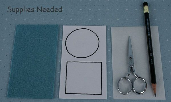Wie Perfekte Formen geschnitten aus Wollfilz - den Gefrierschrank Papier-Methode - Oliver Kaninchen