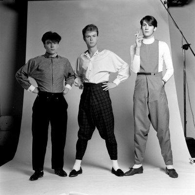 John Keeble, Gary Kemp, and Tony Hadley, c. 1979.