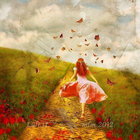 """compleanno - Aimee Stewart """"La mia strada di mattoni gialli"""" Luli.11 mlm 2012"""