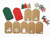 Geschenkanhänger Weihnachten Mix