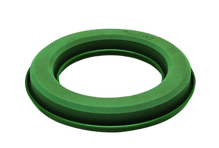 steckmoos ring mit kunststoff unterlage gie rand und. Black Bedroom Furniture Sets. Home Design Ideas
