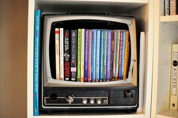 1000 images about dvd storage ideas on pinterest - Unique dvd storage ideas ...