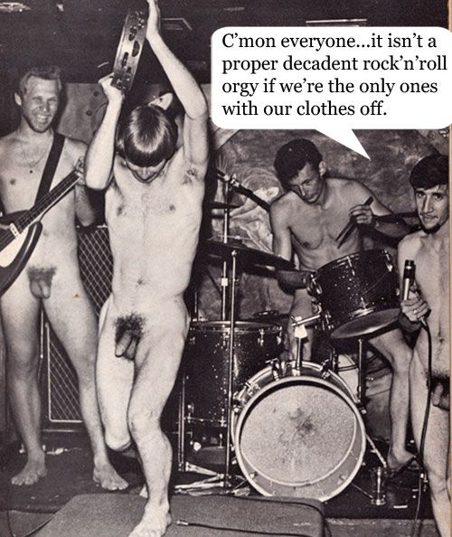 rock n roll naked