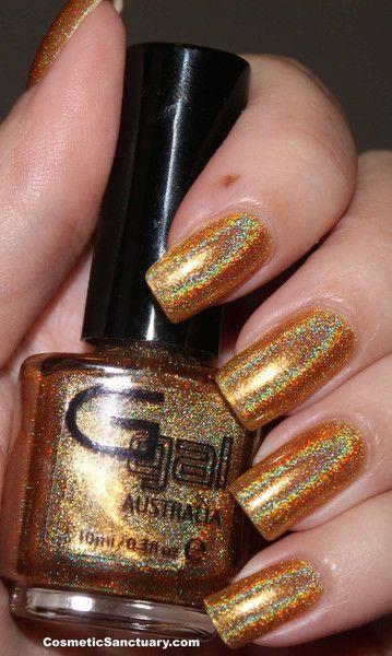 Glitter Gal - Citrine Holo