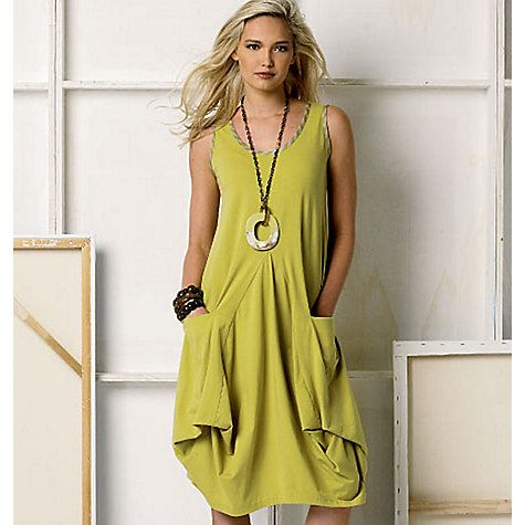 Buy Vogue Marcy Tilton Women's Dress And Jacket Sewing Pattern, 8975 Online at johnlewis.com