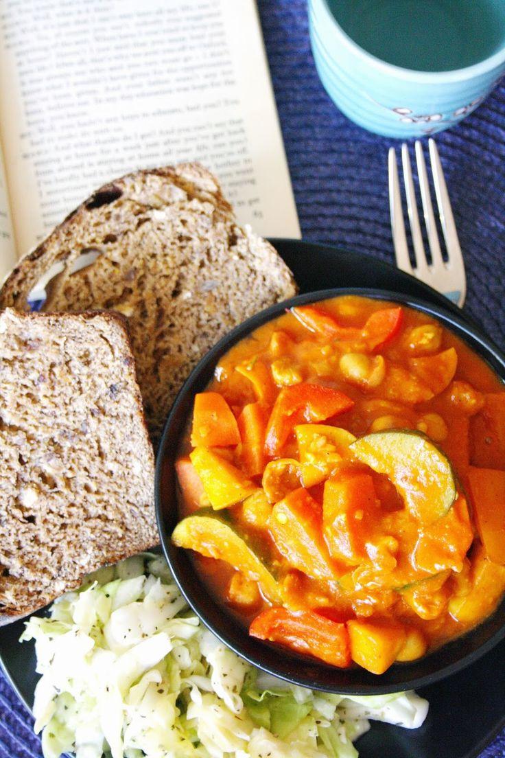 Yogi Dietitian: Chickpea & Vegetable Curry