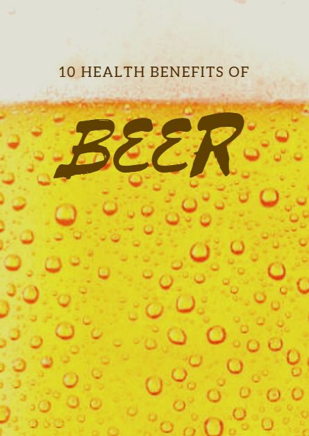 Get buzzed off the best beer benefits, and lose the guilt over your nightly ale. 10 Health Benefits of Beer http://www.active.com/nutrition/articles/10-health-benefits-of-beer?cmp=17N-DP10-BND10-SD50-DM10-T9-05132017-2463