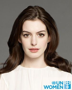 Goodwill Ambassador Anne Hathaway |  Focus: The unequal burden of care work in the home and advocate for affordable childcare services and shared parental leave | Photo: Warner Bros. Entertainment/Brian Bowen Smith