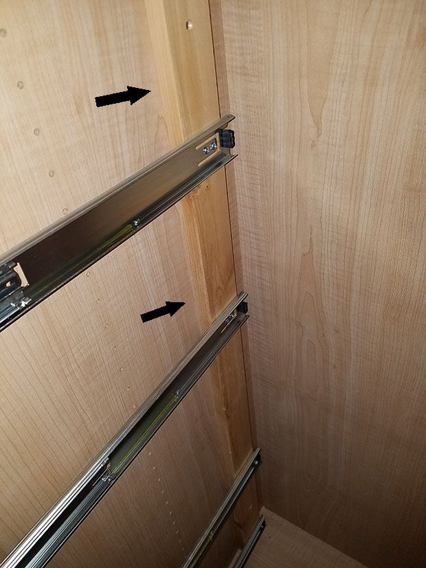 My 9 Best Tips For Installing Cabinet Drawers Installing Cabinets Installing Drawer Slides Woodworking Shop Layout