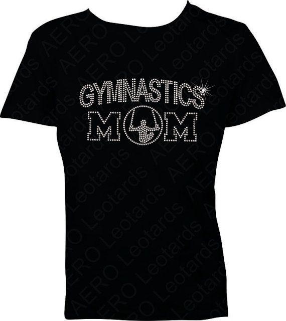 Gymnastics MALE Rhinestone T-shirt Gymnast Bling GYMNASTICS MOM Gymnastic Shirt Mens Gymnastics Gymnast on Etsy, $24.98