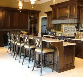 kitchen cabinets with island 83 best walnut kitchen images on contemporary 6473