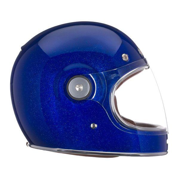 Bell Bullitt Motorcycle Helmet - Bullitt Blue Flake - 2014 Bell Road Helmets - 2014 Bell Moto & Road Helmets - 2014 Motocross