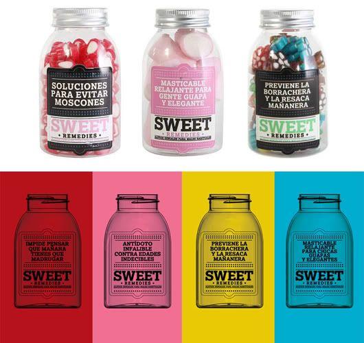 Regalos con buen rollo para los invitados a la boda: Sweet Remedies