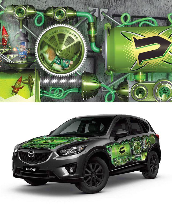V Car Graphics.