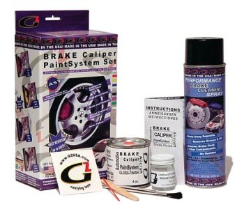 G2 Brake Caliper Paint System Set (Red) $42.99