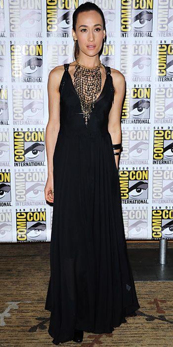 Maggie Q at Comic-Con