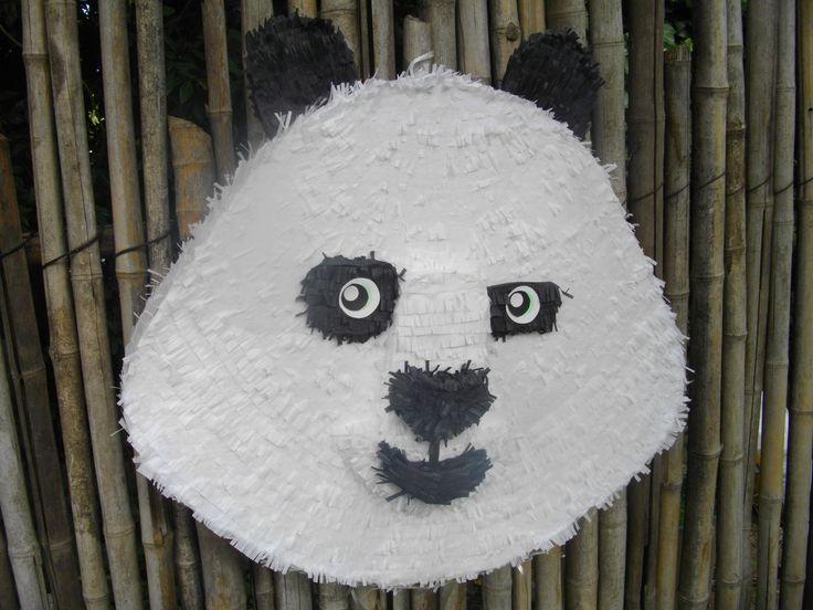 Kung Fu Panda -  Hand Made Piñata.