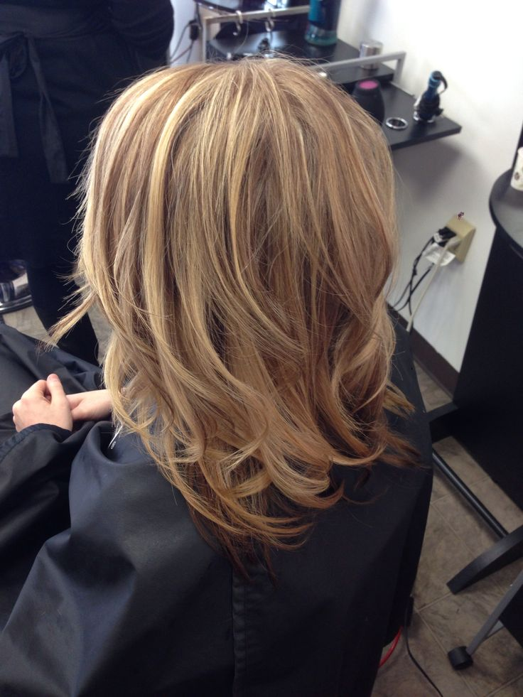 Natural Looking Highlights And Lowlights On Dirty Blonde