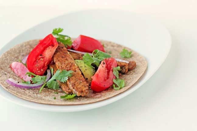 Tempeh Tacos | Delicious Vegan | Pinterest