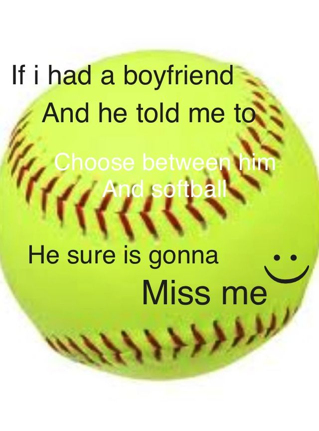 A boy can't be stupid enough to say that Funny softball