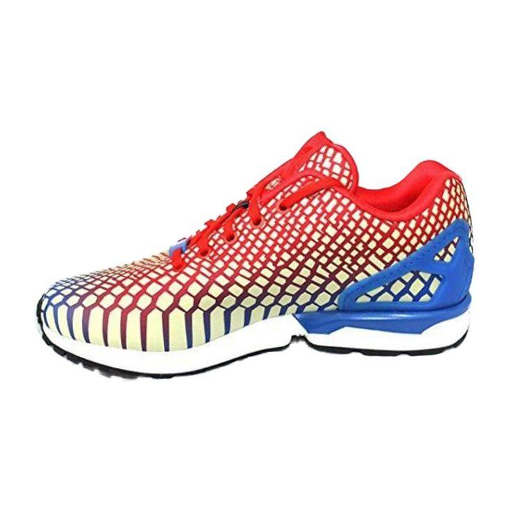 Adidas Originals ZX Flux Xeno Men's Running Shoes Red Blue White size 10 NIB #adidas #RunningCrossTraining