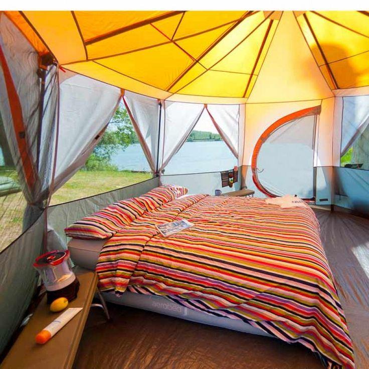 Coleman Cortes Octagon 8 Man Tent   Charlies Direct