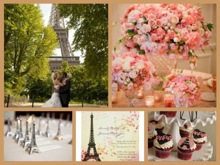 112 Best Paris Themed Wedding Ideas Images On Pinterest