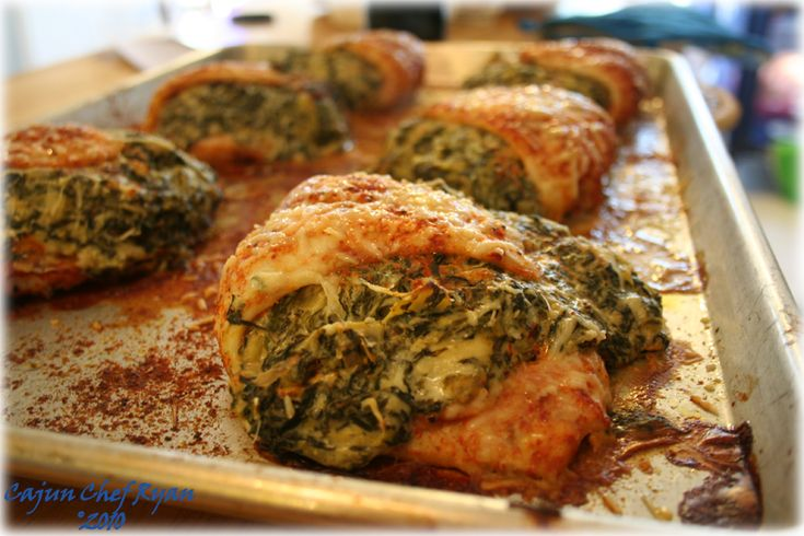 Flounder stuffed with Gorgonzola, parmesan,spinach and artichokes