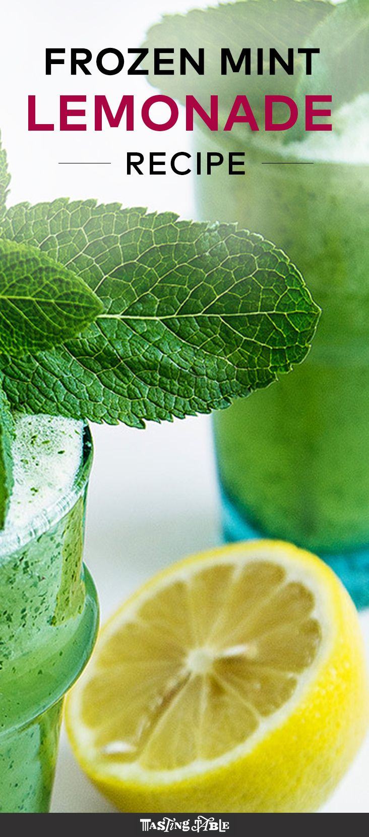 Frozen Mint Lemonade (Limonana) | Recipe | Summer, Israel and Frozen