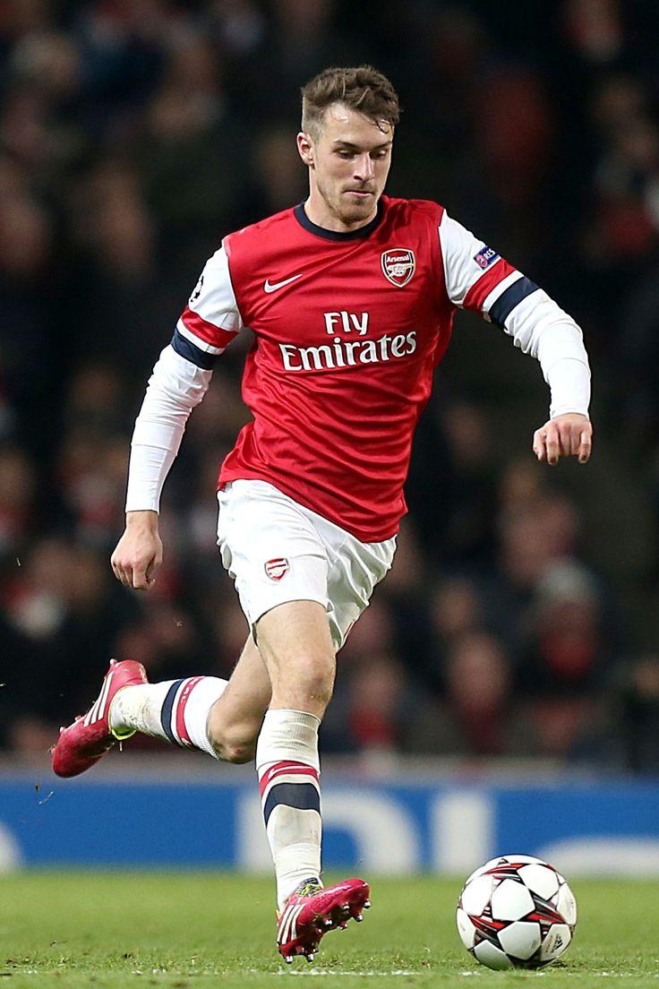 Aaron Ramsey Signs For Elite Models Arsenal Wales Footballer (Vogue.com UK)