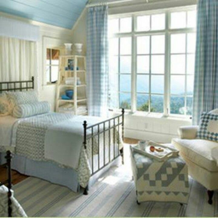 Cottage style bedroom cottage dreams pinterest guest for Cottage bedroom ideas