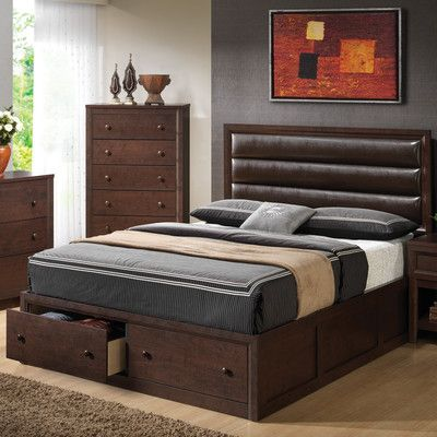 Best Berta Industrial Queen Standard Bed 400 x 300