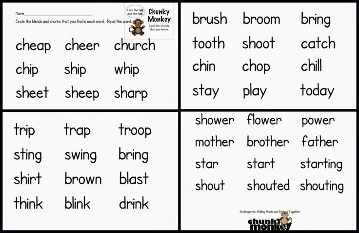 Read more for chunking focus lesson   1st grade word study ...